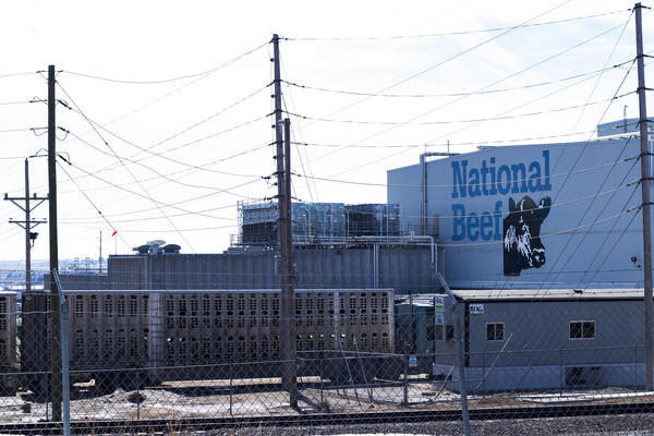 The National Beef plant in Dodge City is one of the state's large meatpacking facilities.