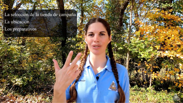 Missouri Department of Conservation educator Kayla Rosen hosts Spanish language videos posted to YouTube and Facebook. They include tips on things like camping and hiking.