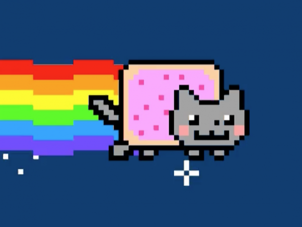 A work called Nyan Cat by Chris Torres sold for $590,000 recently. It's part of growing interest in digital assets, known as nonfungible tokens, or NFTs, that are generating millions of dollars in sales every day.