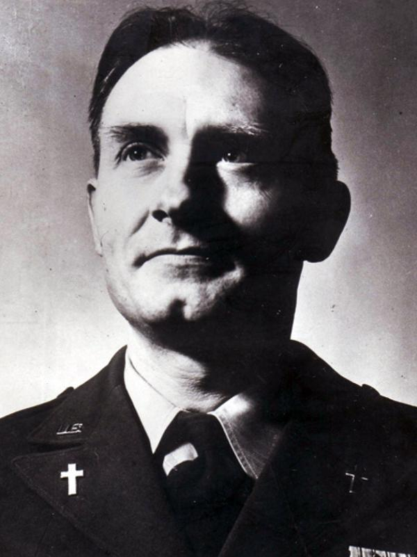 Chaplain (Capt.) Emil J. Kapaun was given a Medal of Honor posthumously in 2013. His remains were identified, the military said Friday.