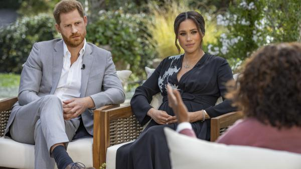 Prince Harry and Meghan, the Duchess of Sussex, sat for a long talk with Oprah Winfrey.