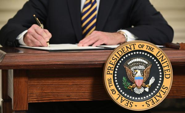 President Biden will sign a pair of executive orders Monday on gender equity.