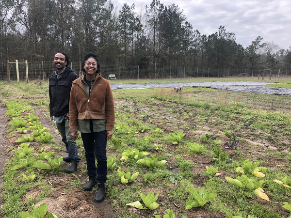 """David """"Kip"""" Ritchey and Angelique Taylor not only grow food for their community, they also educate people on how to farm sustainably through social media."""