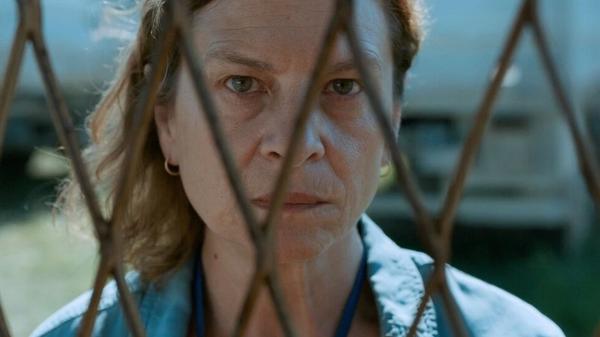 Jasmila Zbanic plays a schoolteacher who works as a U.N. translator during the Bosnian war in <em>Quo Vadis, Aida?</em>
