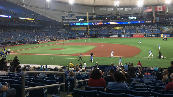 The upper-deck 300 level at Tropicana Field will be re-opened for the first time since 2019 to allow for more social distancing for the 2021 season.
