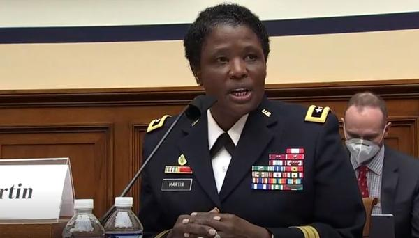 Maj. Gen. Donna Martin, commander, U.S. Army Criminal Investigation Command