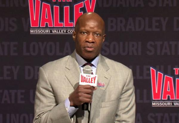 Jeff Jackson will become the 10th commissioner of the Missouri Valley Conference when he starts in his new role on July 1. He was introduced as Doug Elgin's replacement Wednesday.