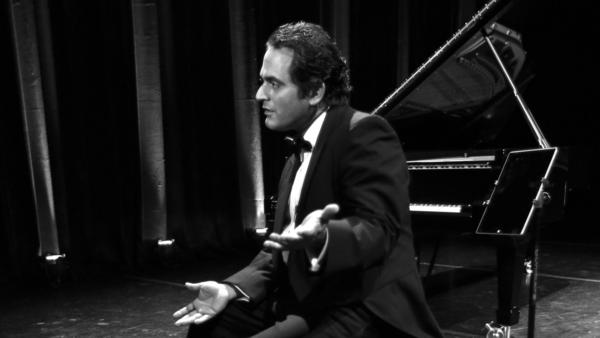 Syrian-American pianist and composer Malek Jandali, photographed on May 16, 2015 in Dubai.