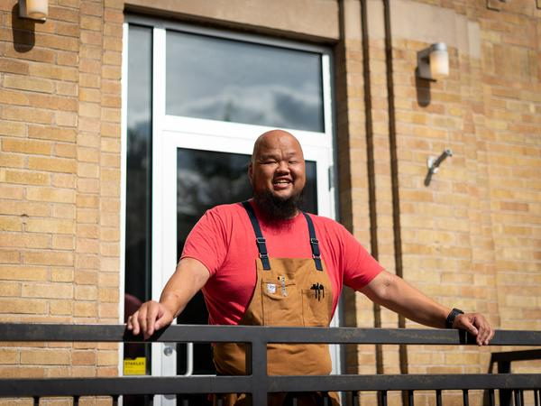 Chef Yia Vang's restaurant in Minneapolis is getting ready to open amid a fierce debate within the restaurant industry about the minimum wage. The restaurant will not have tipping.