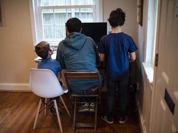 A Census Bureau survey found that the number of households that said they were homeschooling doubled last year.