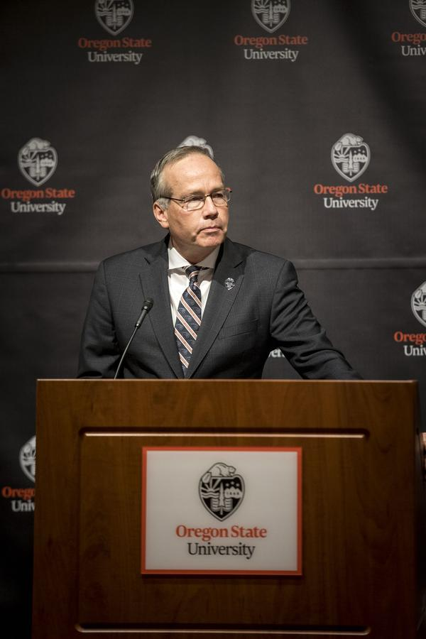 Oregon State University President F. King Alexander.