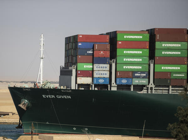 The container ship Ever Given was refloated, unblocking the Suez Canal in Egypt on Monday. Among the objects that were blocked by the ship were livestock, French oak and Ikea furniture.