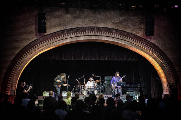 The band Harriet Tubman, three musicians who have all had experience in Threadgill's ensembles, devised its own tribute to their mutual hero.