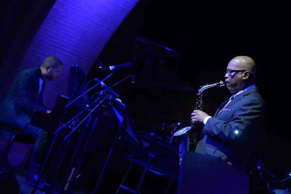 Saxophonist Greg Osby joined pianist Jason Moran to perform two of Threadgill's compositions in a spare setting.