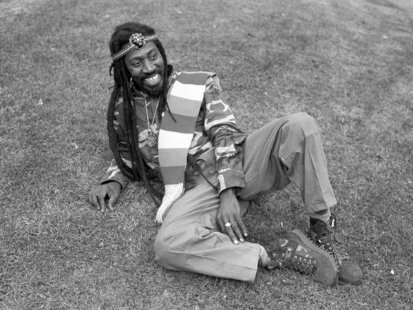 Bunny Wailer photographed in London in 1988.