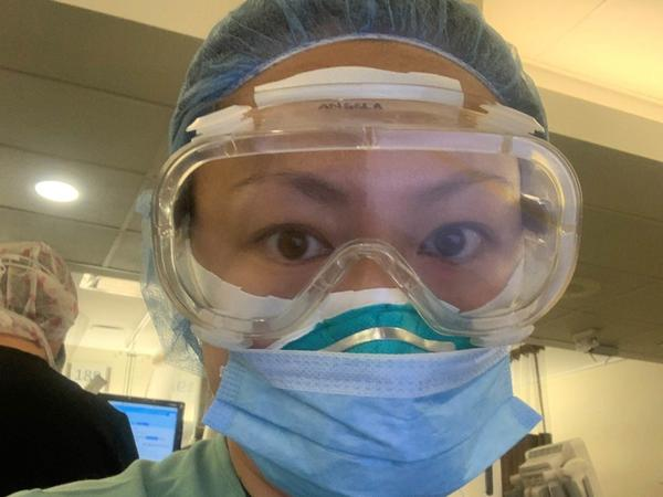 Dr. Angela Chen, an emergency physician at The Mount Sinai Hospital in New York City, diagnosed the city's first confirmed COVID-19 case last March.