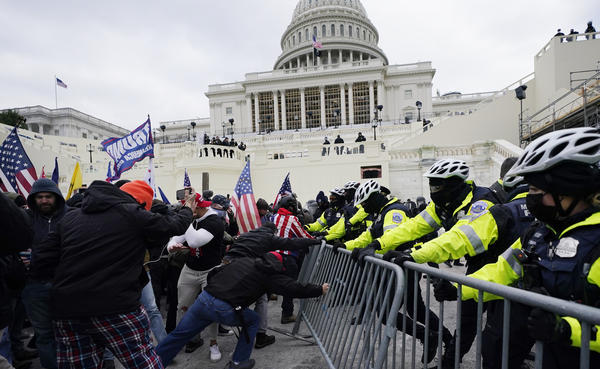 The Jan. 6 riot at the Capitol has reinvigorated a long-running debate about whether the U.S. should have a domestic terrorism law. As a candidate, President Biden said he would seek such a law. Since Biden took office, his administration has said only that the matter is under review.