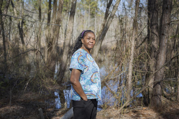 Joyce Barnes, 62, is a home aide near Richmond, Va., working two jobs that pay $9.87 an hour and $8.50 an hour.