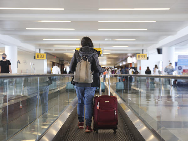 The Centers for Disease Control and Prevention updated its domestic travel guidance for fully vaccinated people on Friday, lifting certain requirements while continuing to advise mitigation measures like mask-wearing and hand-washing.
