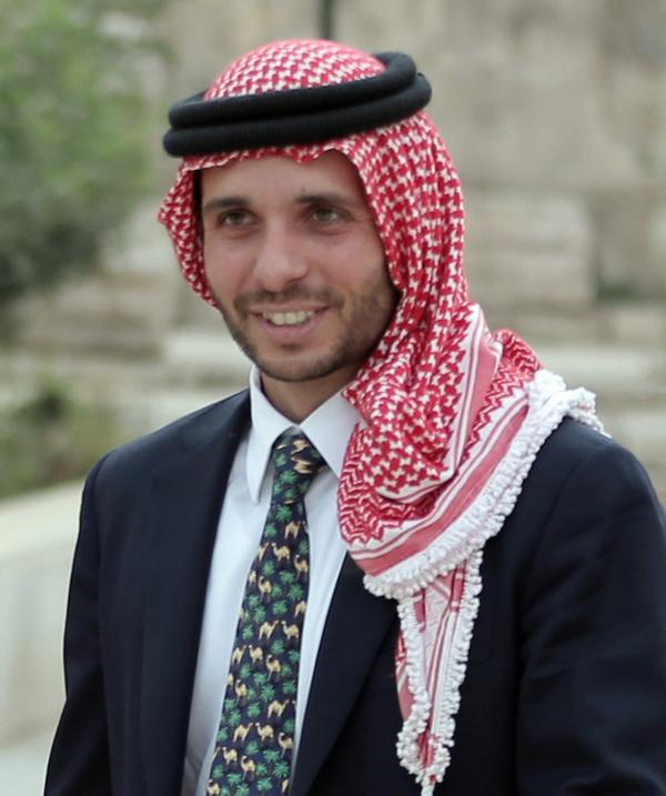 Jordan's Prince Hamzah Bin Al-Hussein, the half-brother of King Abdullah II, said Saturday that he's been placed under house arrest, a claim disputed by authorities.