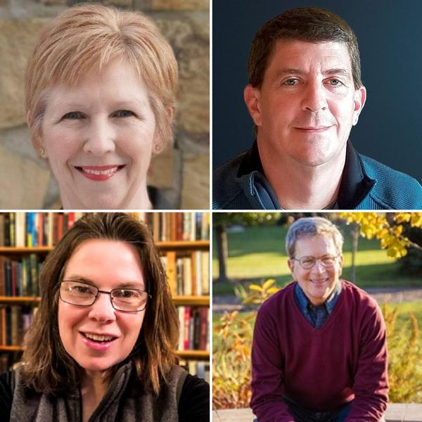 Bloomington city council candidates (clockwise from upper left) Sheila Montney, Nick Becker, Tom Crumpler, Mollie Ward.