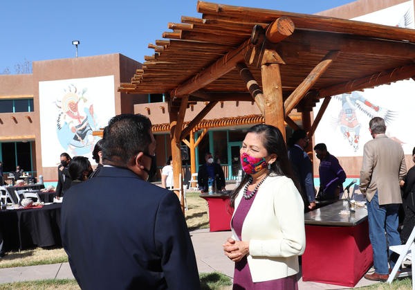 Secretary of the Interior Deb Haaland heard from leaders of nine Pueblo communities during a visit to Albuquerque