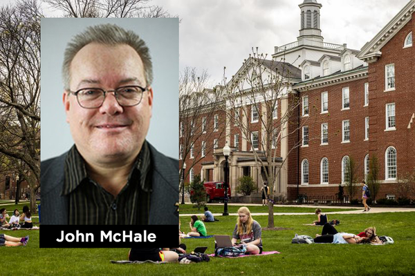 Illinois Sate University professor John McHale has written seven produced films, directed five produced films, produced nine films, executive produced over 20 films.