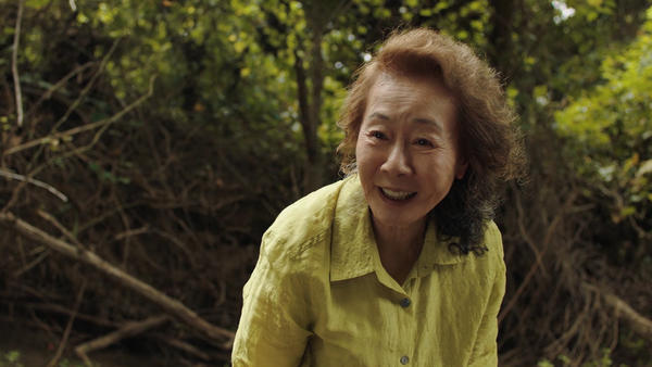Youn Yuh-jung plays a grandmother in the Oscar-nominated film <em>Minari.</em> She's the first Korean actor to be nominated for Best Supporting Actress.