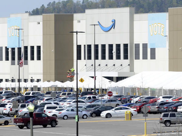 Vote tally is underway in a historic union election at Amazon's warehouse in Alabama.