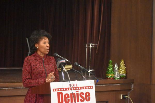First District Councilwoman-elect Denise Jackson in December 2020.