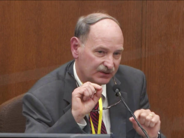 Witness Bill Smock, a Louisville physician in forensic medicine, on Thursday dismissed the idea that fentanyl, which George Floyd was found to have consumed at some point before he died, could be blamed for his death.