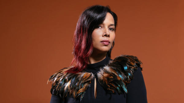 Rhiannon Giddens recorded her new album, <em>They're Calling Me Home, </em>with her collaborator Francesco Turrisi, in quarantine in Ireland during 2020.