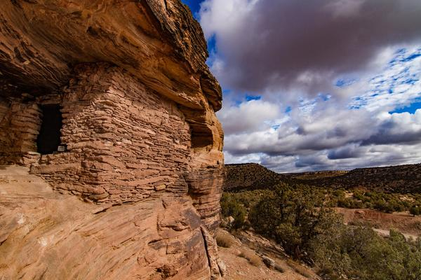 The area between Bears Ears and Hovenweep national monuments is rich in archaeological sites, according to retired Bureau of Land Management archaeologist Don Simonis.