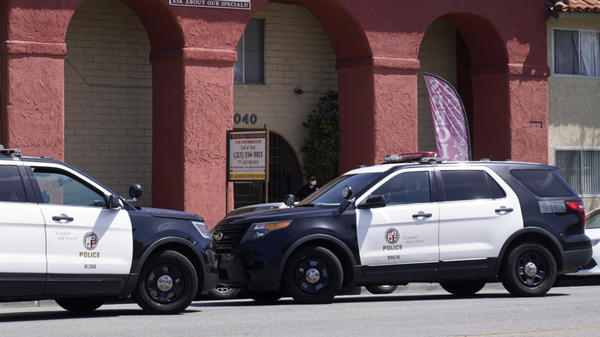 Los Angeles police said three children under the age of 5 were discovered dead in the Reseda neighborhood Saturday morning.