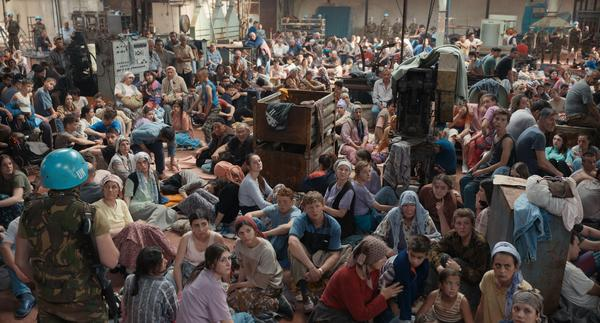 <em>Quo Vadis, Aida?</em> dramatizes the genocide of more than 8,000 Bosnian Muslim men and boys in Srebrenica in July 1995. It is nominated for the Academy Award for Best International Feature Film.