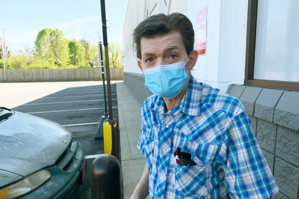 """Hartsville resident Rick Bradley, 62, received his first COVID-19 vaccine dose at the end of March at the local Walgreens, saying """"this is not a summer cold or a conspiracy."""" He says some of his neighbors have become so used to COVID-19, that getting vaccinated has fallen off the priority list."""
