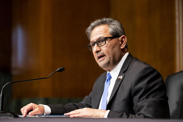 Michael Carvajal, the director of the Federal Bureau of Prisons, speaking to the Senate Judiciary Committee on Thursday.
