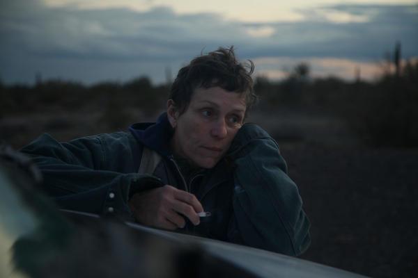 Frances McDormand in <em>Nomadland.</em>