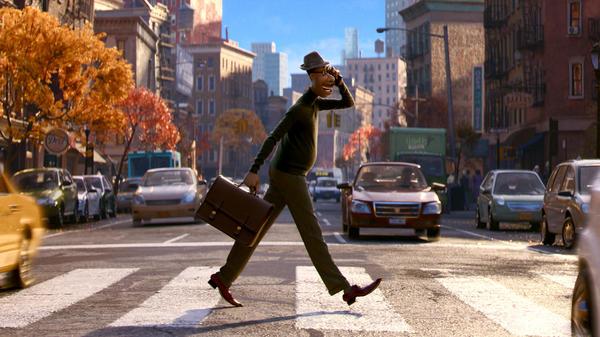 The Disney/Pixar film<em> Soul</em> centers on Joe (voiced by Jamie Foxx), a middle school band teacher who longs to be a jazz musician.