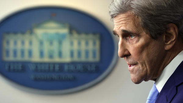 Special Presidential Envoy for Climate John Kerry tells NPR that the U.S., China and other major emitters aren't doing enough to stem climate change.