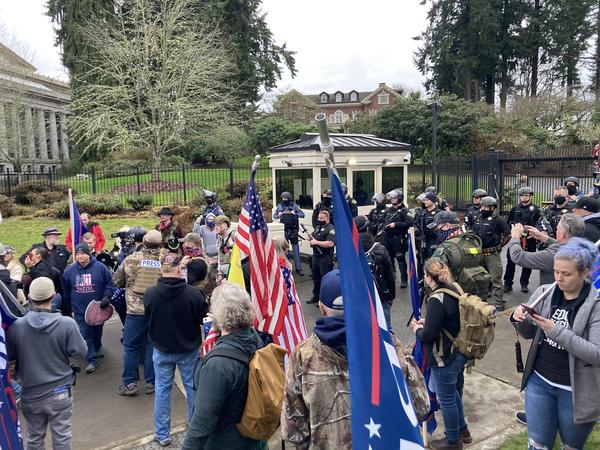 On Jan 6, 2021, a group of pro-Trump supporters breached a security gate at the Governor's executive residence in Olympia. The next capital construction budget includes money for security upgrades to the residence.