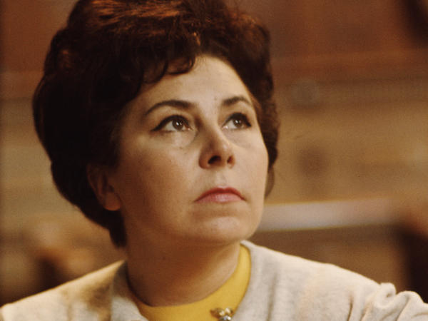 Classical music fans are mourning the loss of Christa Ludwig, seen in 1965, known for her versatility and the warmth of her voice. She died at her home in Austria on April 24 at age 93.