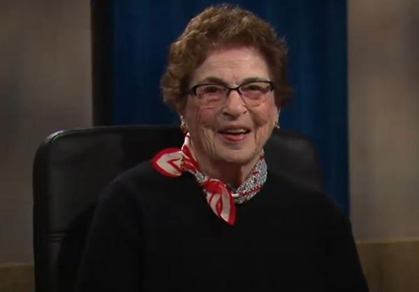 Betty Strasenburgh, appearing on the WXXI-TV program Norm & Company, June 30, 2017