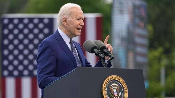 "President Biden says America has ""to deal with"" the aftereffects of slavery and Jim Crow laws."