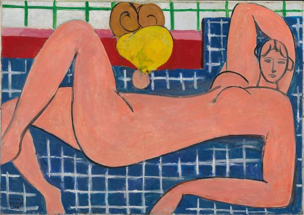 Henri Matisse, <em>Large Reclining Nude,</em> 1935, The Baltimore Museum of Art: The Cone Collection, formed by Dr. Claribel Cone and Miss Etta Cone of Baltimore, Maryland, BMA 1950.258