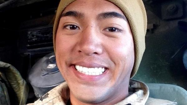 """Ralph """"AK"""" Angkiangco spent just under a decade in the United States Navy as a hospital corpsman. He deployed to Afghanistan twice and served alongside the Marines."""