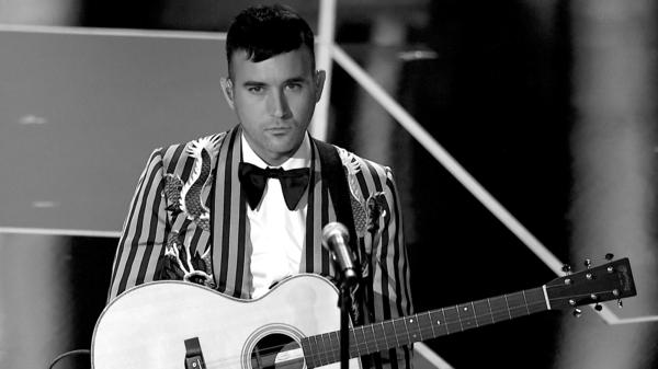Sufjan Stevens, onstage during the Academy Awards on March 4, 2018 in Los Angeles.