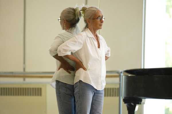 "Twyla Tharp, shown above at Pacific Northwest Ballet in 2008, says the pandemic has impacted her body: ""In terms of routine, discipline, just ordinary day-to-day activities — the body doesn't know itself at the moment."""