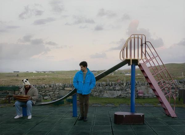 Vikash Bhai (left) as Farhad and Amir El-Masry as Omar in <em>Limbo, </em>a Scottish dramedy about the refugee crisis.