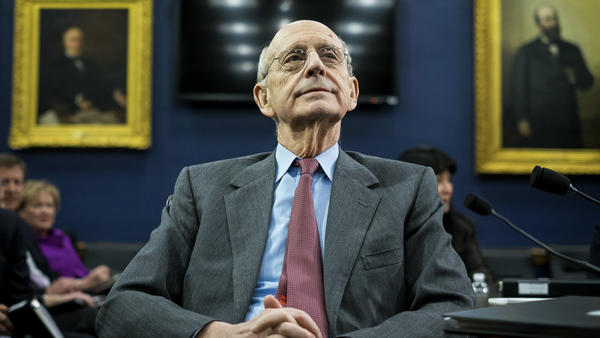 U.S. Supreme Court Justice Stephen Breyer in March 2015.